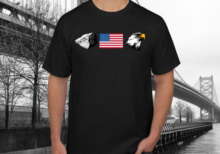 Rock Flag Eagle